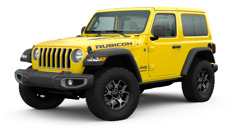 2020 Jeep Wrangler Rubicon - Hella Yella