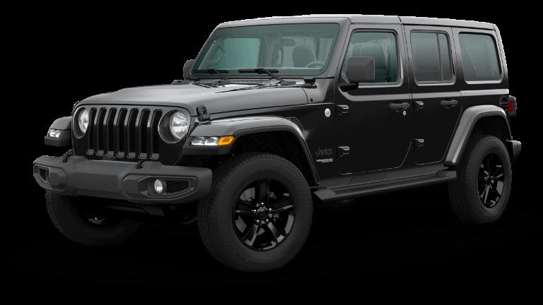 2020 Jeep Wrangler Sahara Altitude - Black