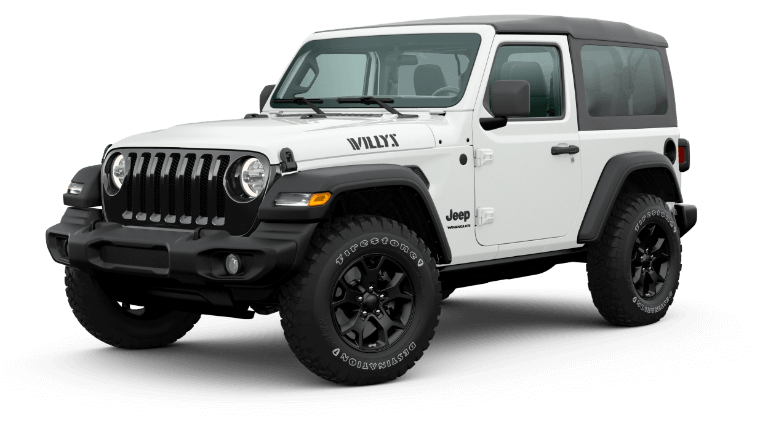 2020 Jeep Wrangler Willys - Bright White