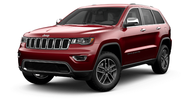 2021 Jeep Grand Cherokee Limited - Velvet Red