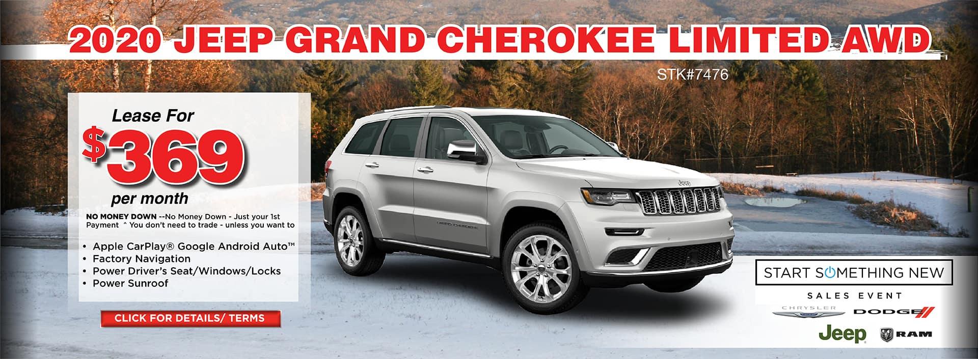 2020 Jeep Grand Cherokee Limited AWD