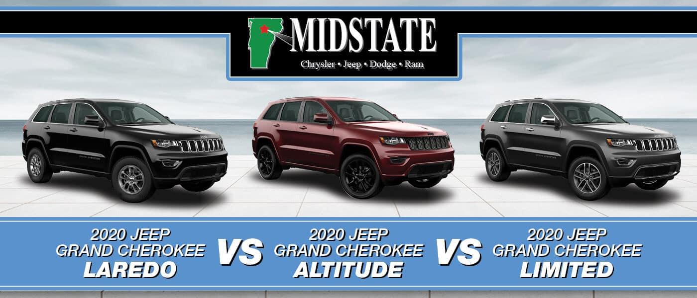 Jeep Grand Cherokee Laredo Vs Altitude Vs Limited Midstate Cdjr