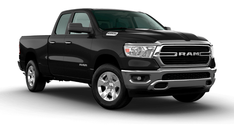 All New 2020 Ram 1500 Big Horn - Diamond Black