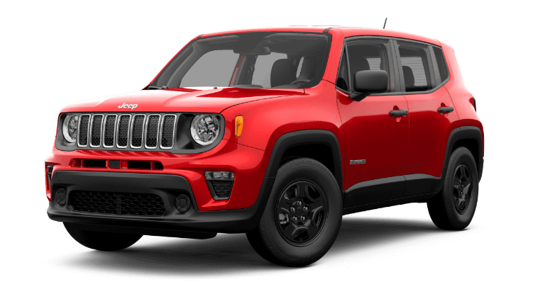 2019 Jeep Renage Sport - Colorado Red