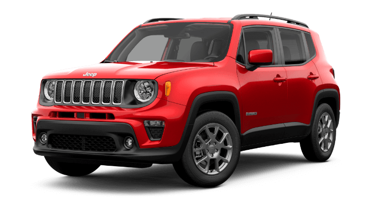 2020 Jeep Renage Latitude - Colorado Red