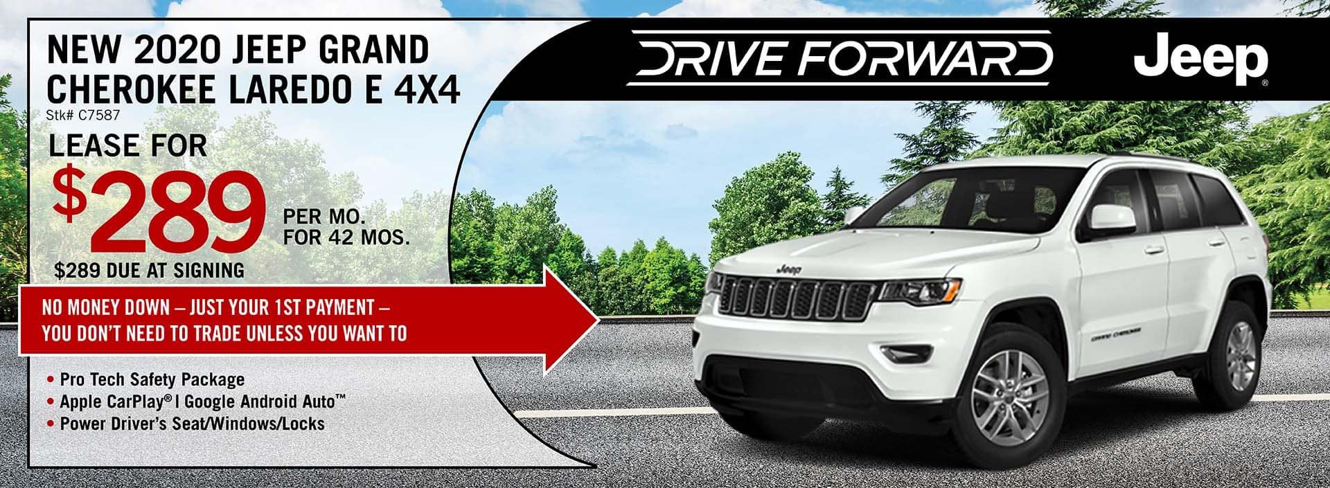 2020 Jeep Grand Cherokee Laredo AWD