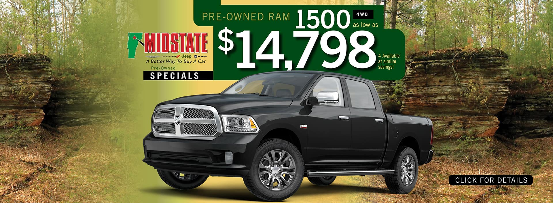 Used Ram 1500 Pre-Owned Offer | Barre, VT
