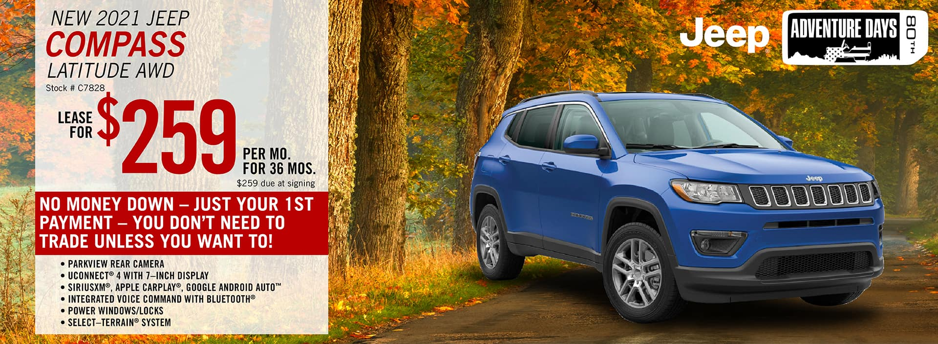 2020 Jeep Compass Lease Offer | Barre, VT