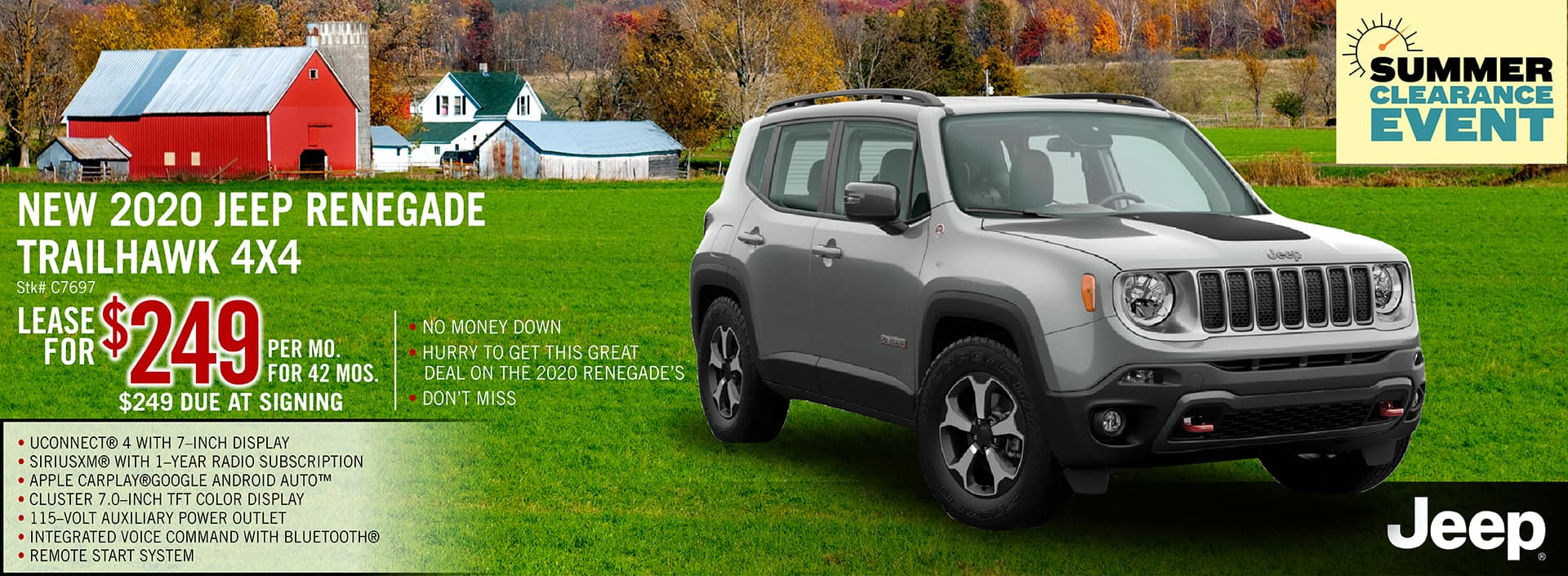 2020 Jeep Renegade Lease Offer | Midstate CDJR