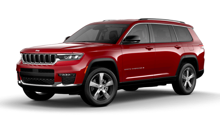 2021 Jeep Grand Cherokee L Limited - Velvet Red