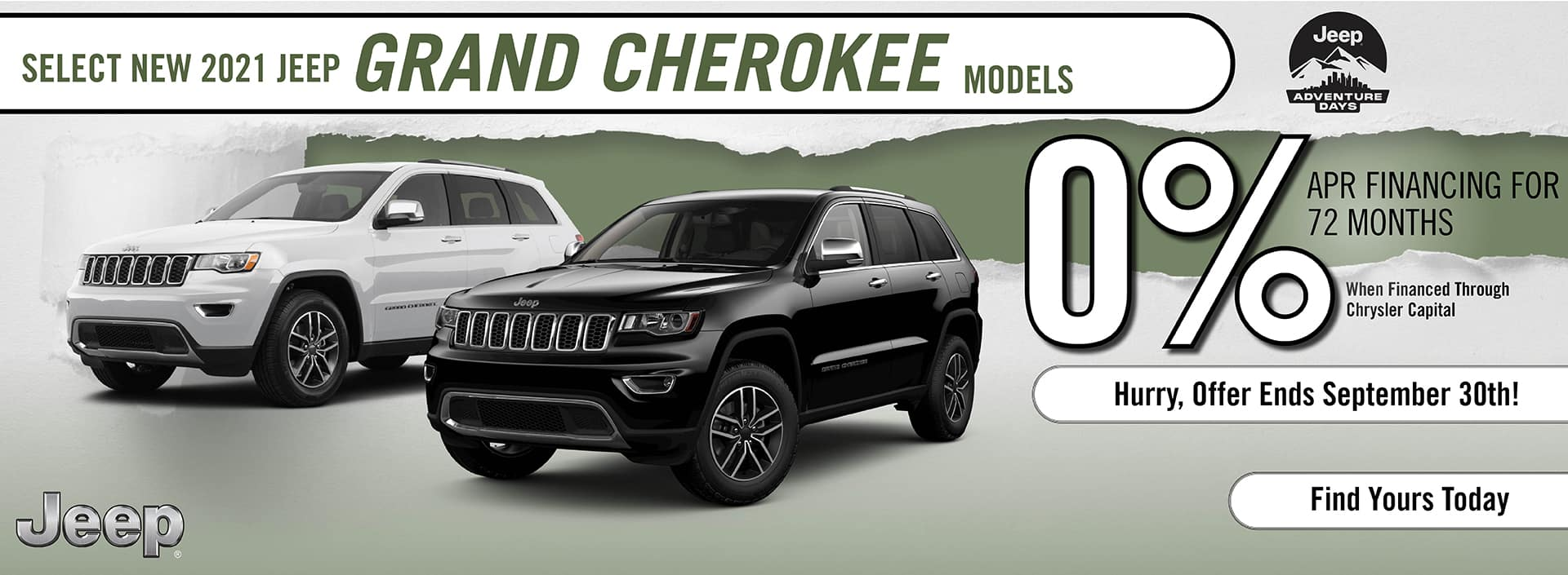 2021 Jeep Grand Cherokee Special Offer | Barre, VT