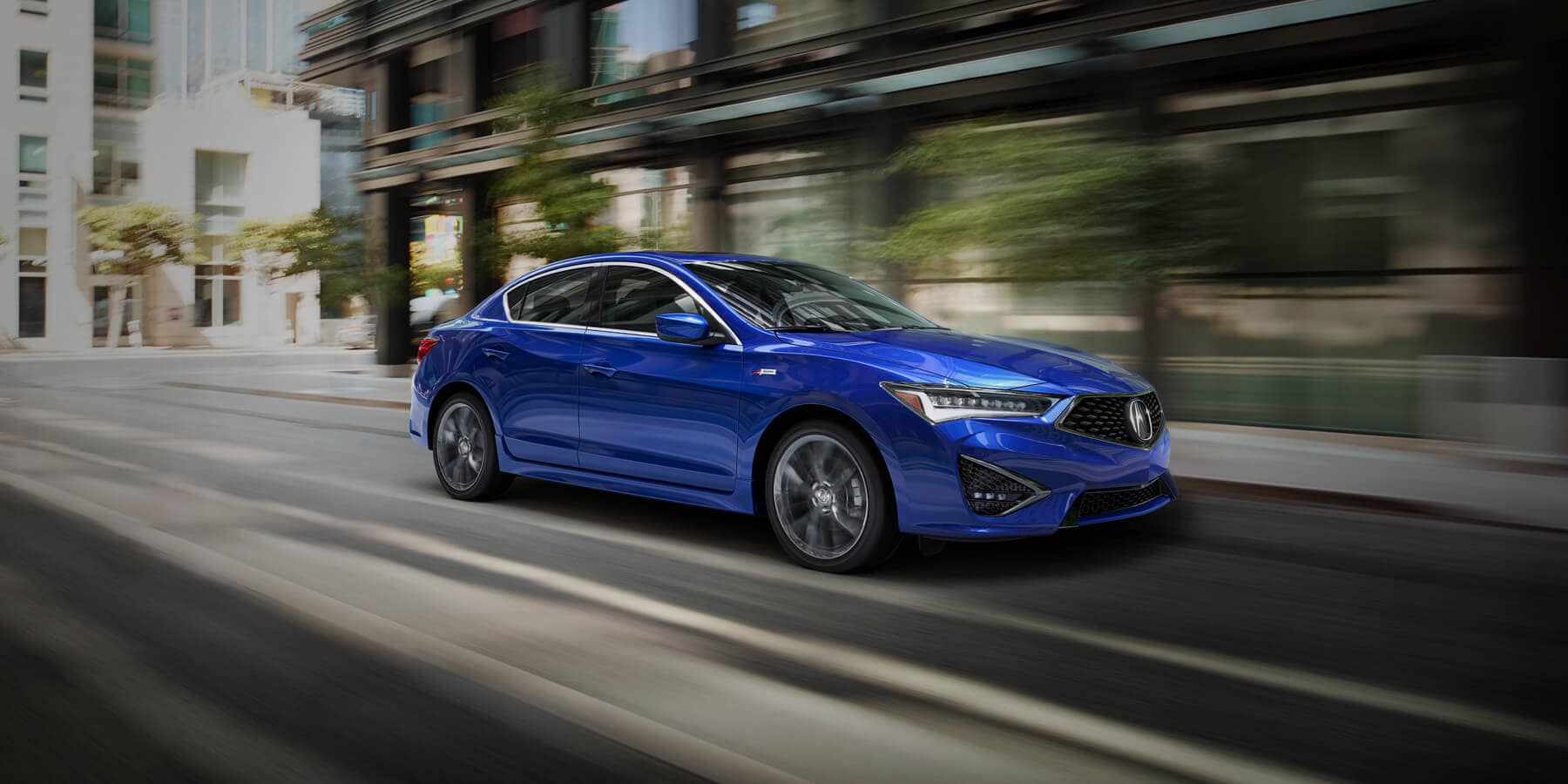 2019 Acura ILX Apex Blue Pearl Front Angle HP Slide