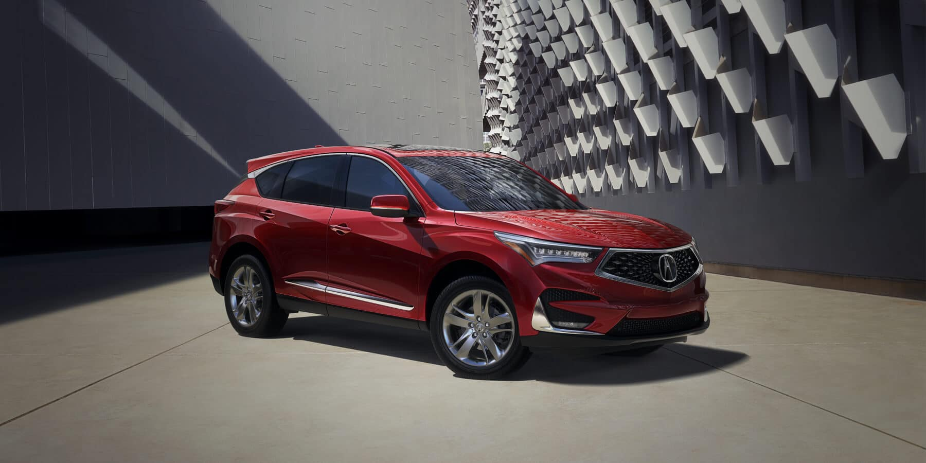 2020 Acura RDX Performance Red Pearl Front Angle