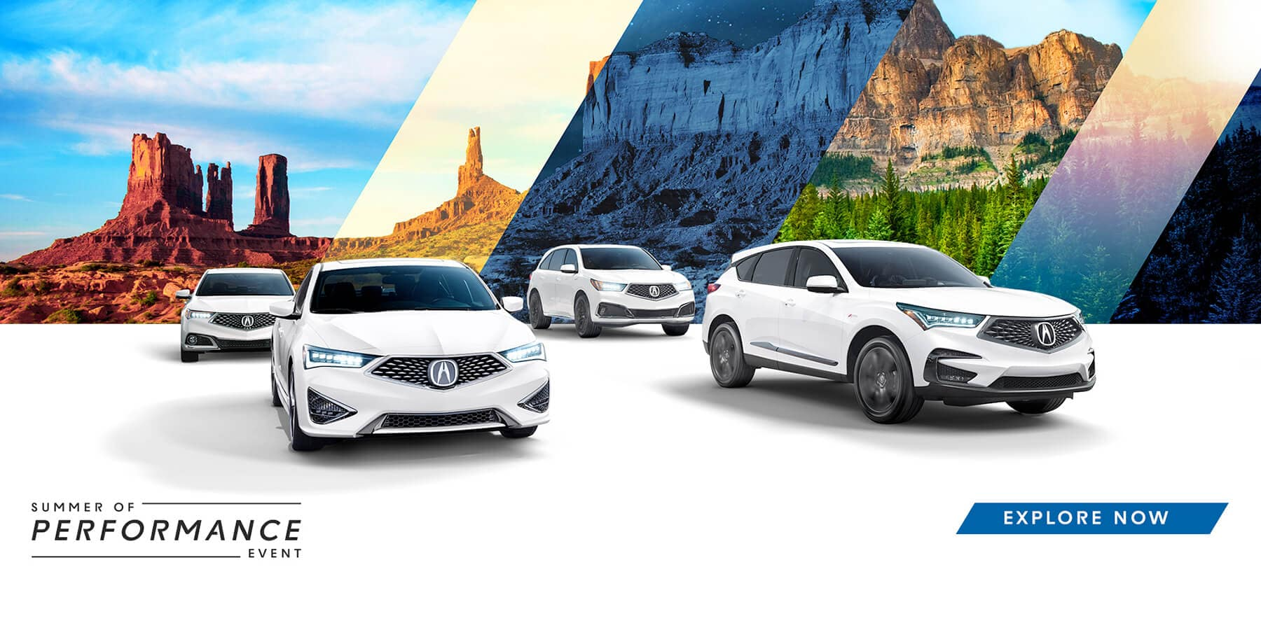 2019 Acura Summer of Performance Event HP Slide