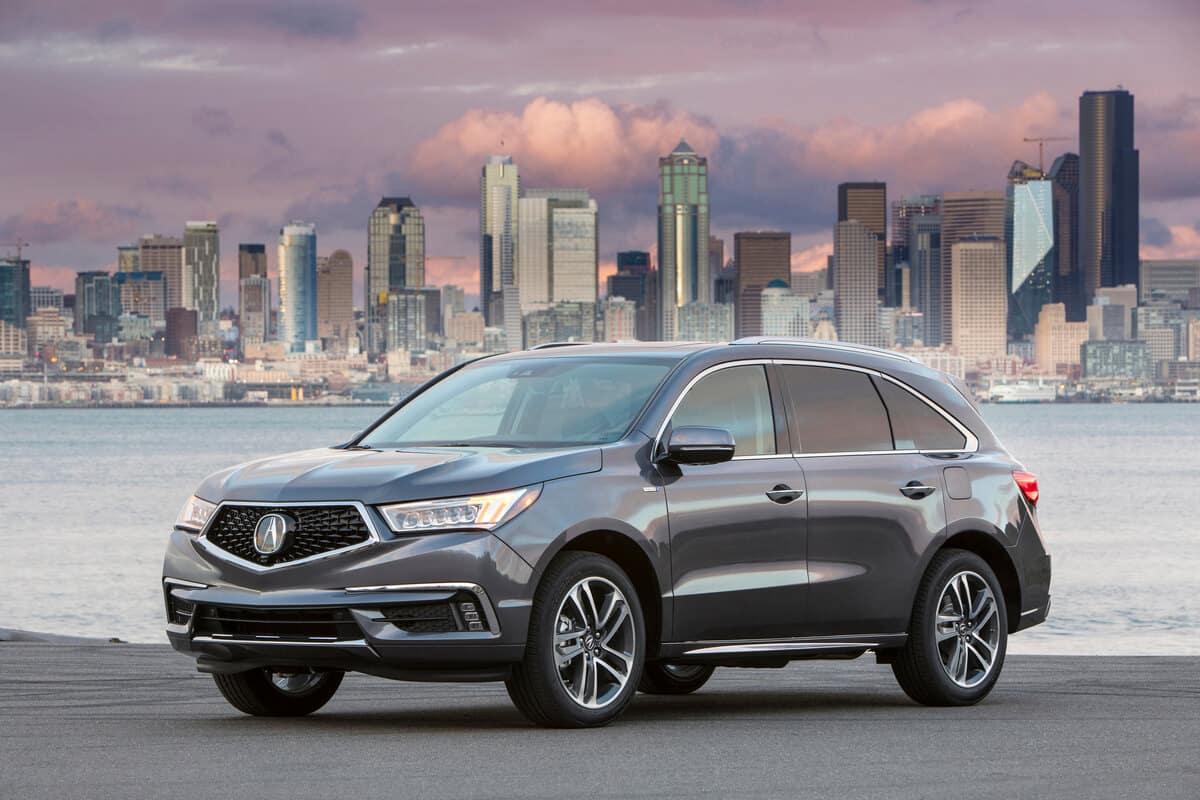 Compare 2020 Acura Mdx Vs 2020 Honda Pilot Midwest Acura Dealers