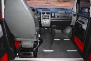 VPG MV-1 Interior