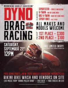 Dyno Drag Racing | Moonshine Harley-Davidson