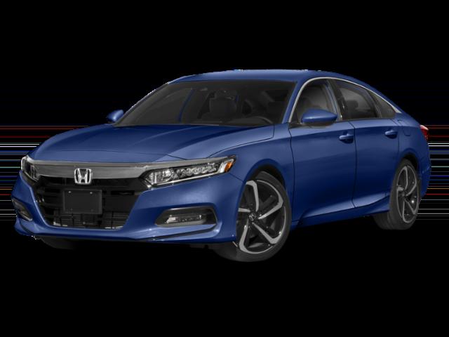 Blue used Honda Accord