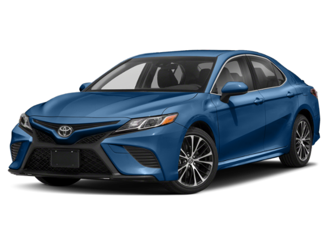Blue Used Toyota Camry