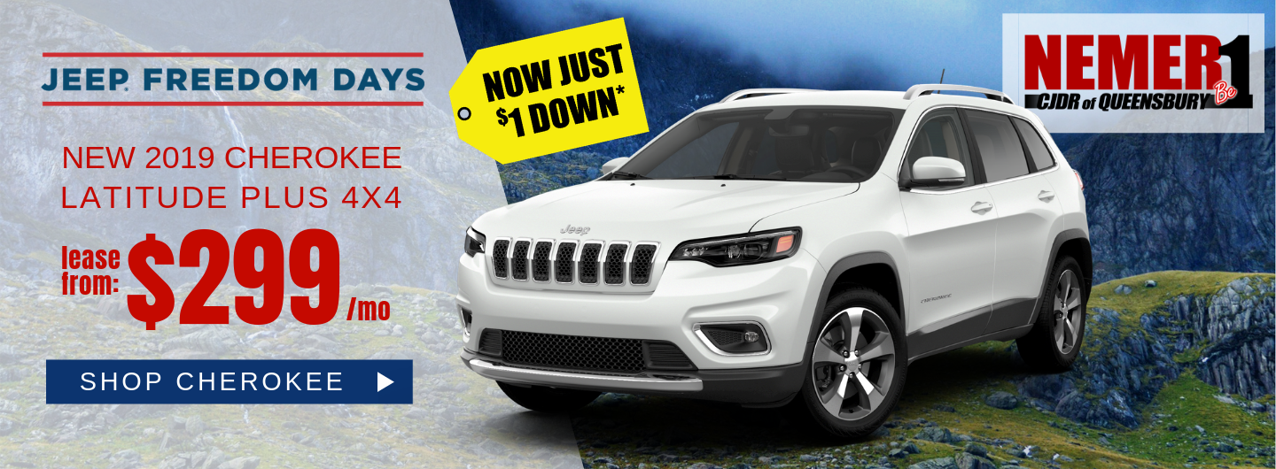April 2019 Jeep Cherokee Offer Freedom Days