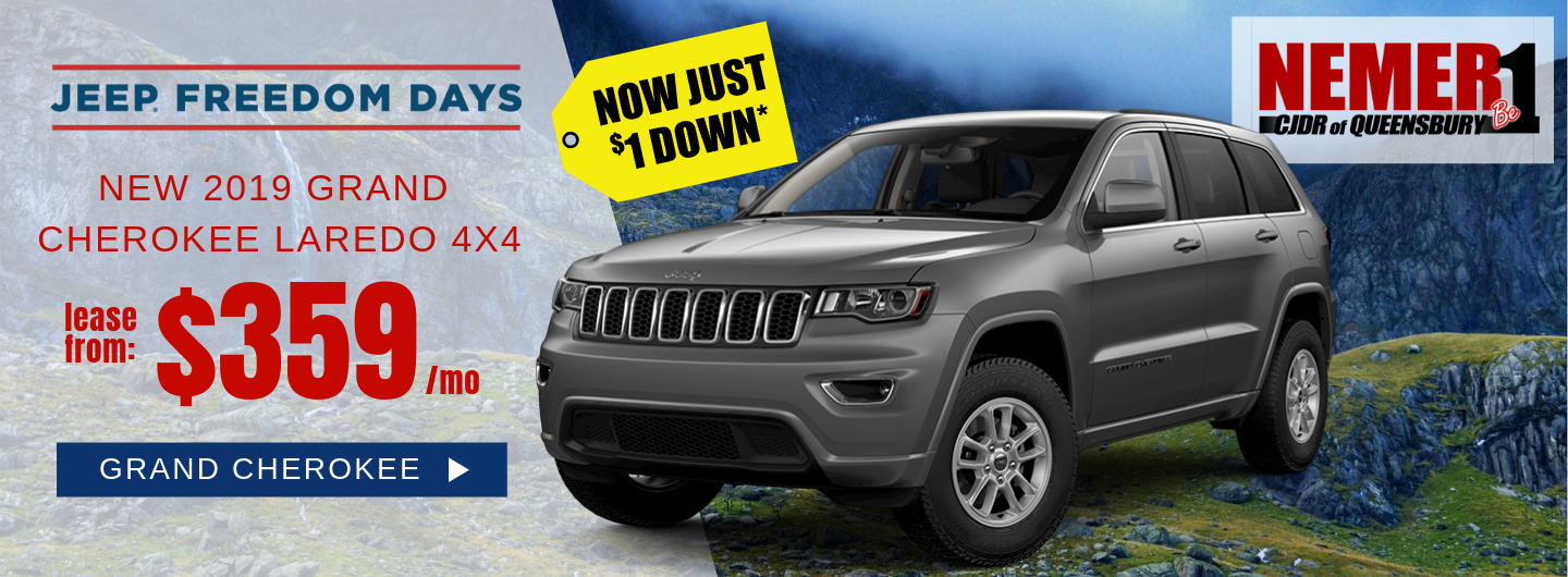 April 2019 Jeep Grand Cherokee Offer Freedom Days