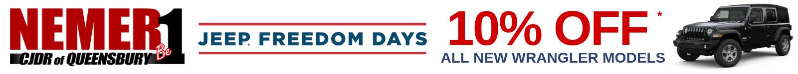 Wrangler Freedom Days
