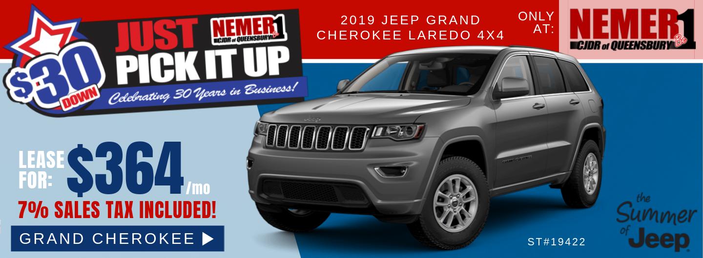 $364 Grand Cherokee July