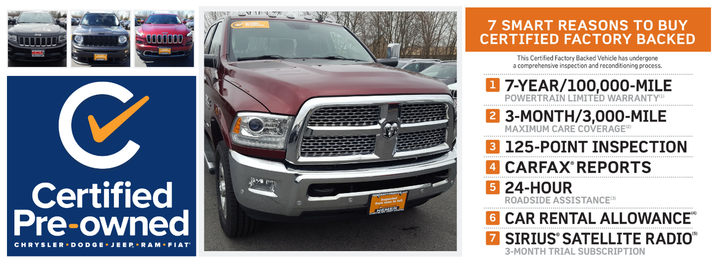 Certified Pre-owned Jeep Ram Dodge Chrysler