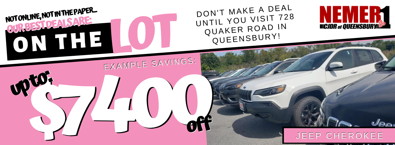 Cherokee October Savings