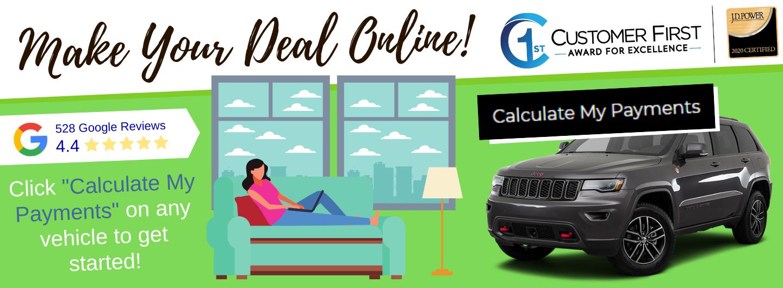 Make Your Deal Online CJDR Queensbury