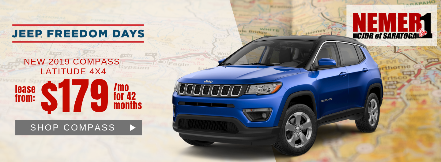 Compass Jeep Freedom Days Lease