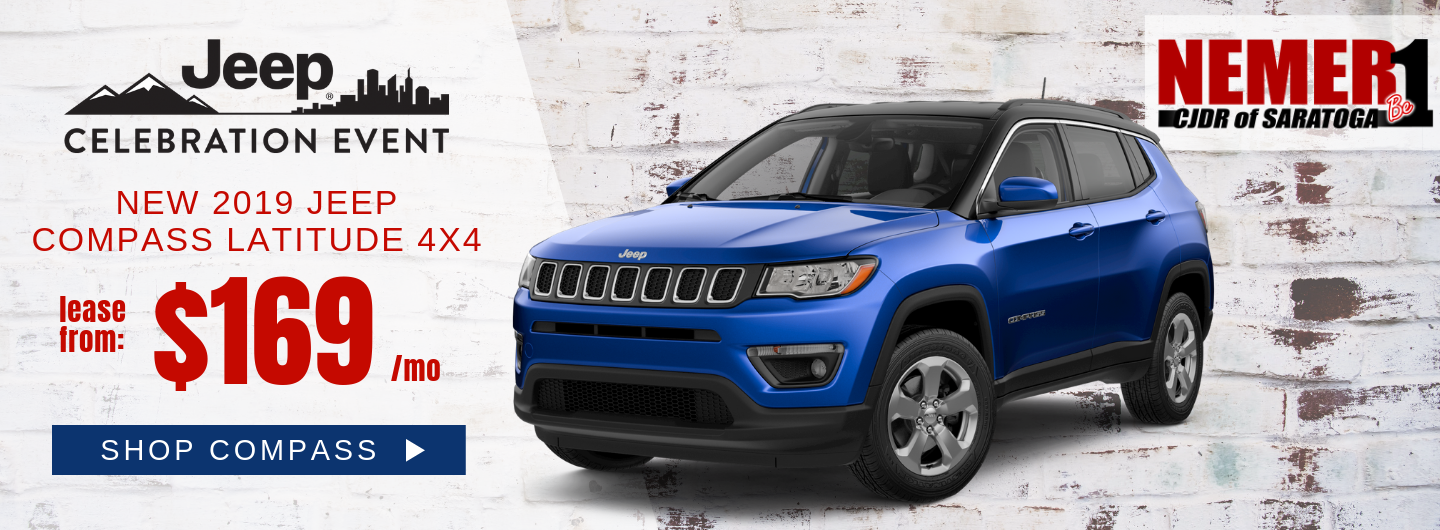 Jeep Compass Lease Offer May Nemer CJDR Saratoga
