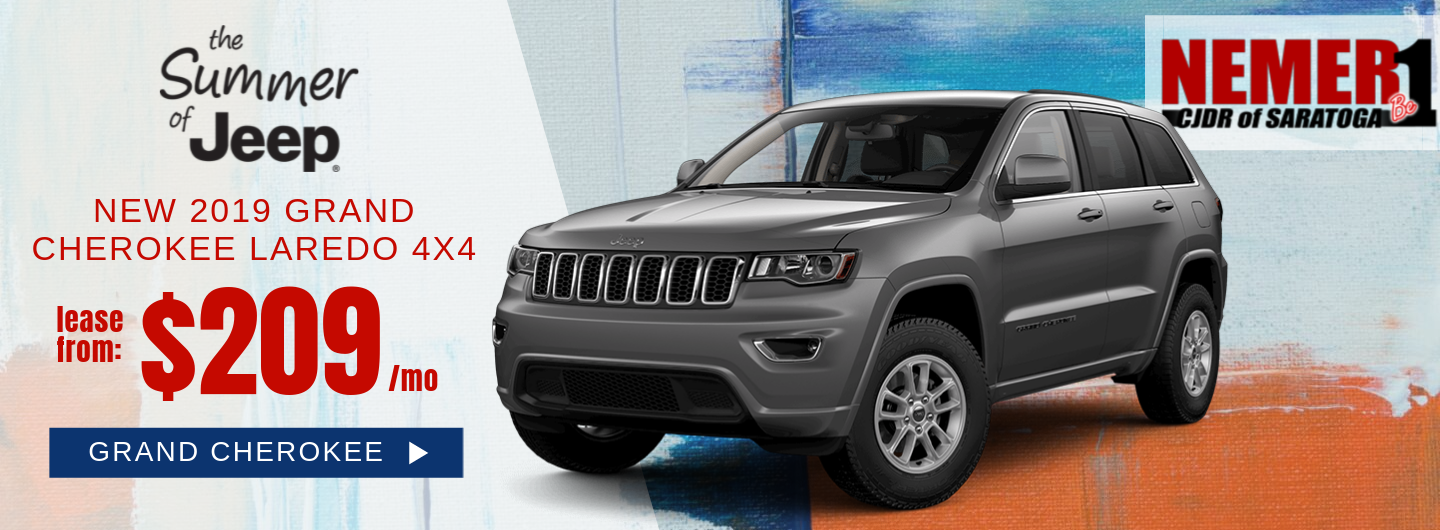 $209 Grand Cherokee July Lease