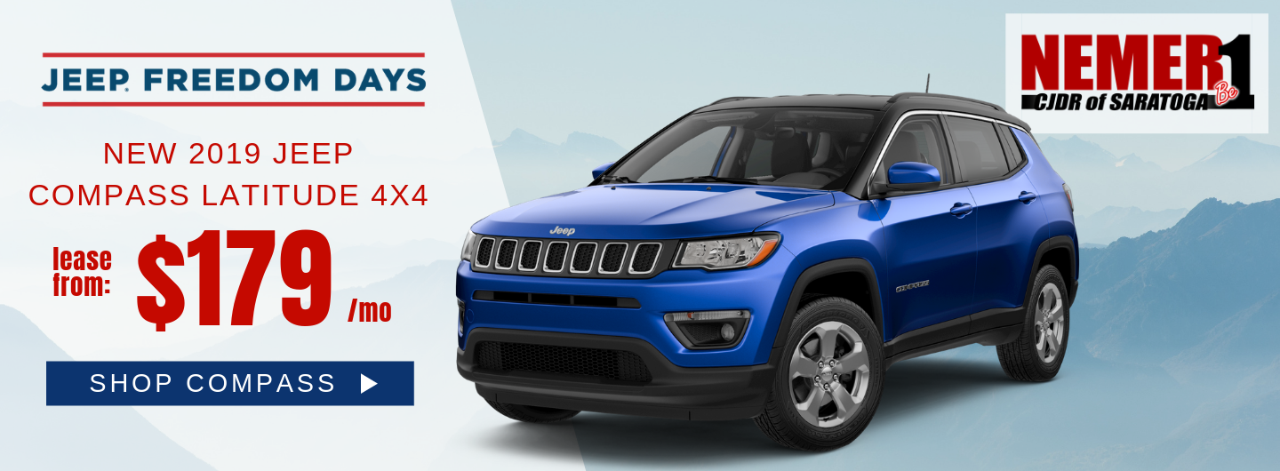 Jeep Freedom Days Compass $179