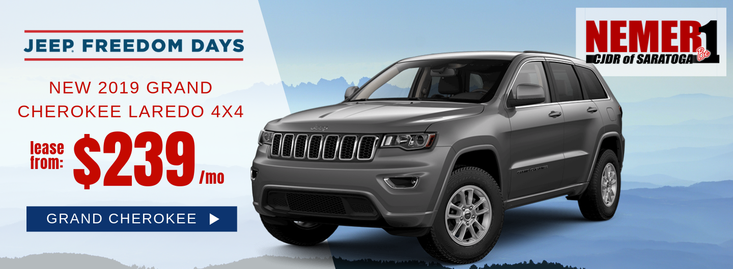 Jeep Freedom Days Grand Cherokee $239