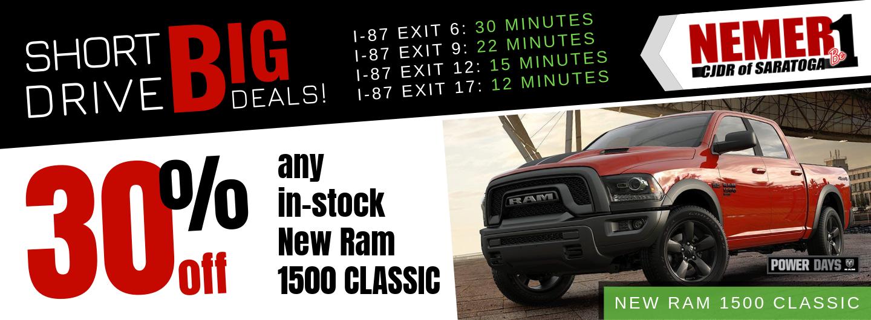30% Off Ram Classic