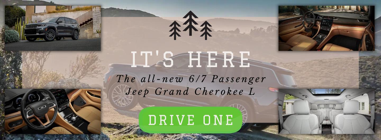 Grand Cherokee L Arrival