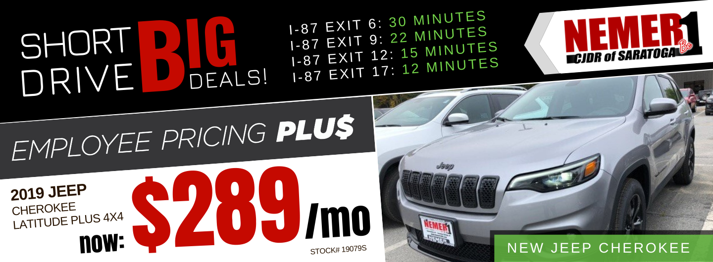 November Employee Pricing Plus Jeep Cherokee Lease