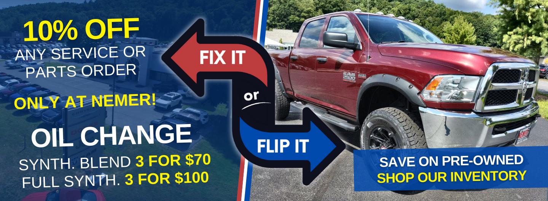 Pre-owned Fix it or Flip It