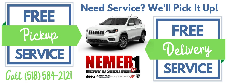 Need Service We Pick It Up CJDRS