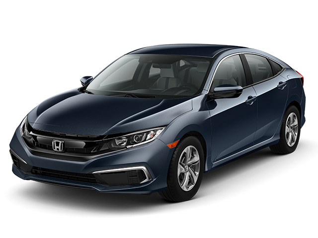 New 2019 Honda Civic Sedan LX FWD 4dr Car AUTO
