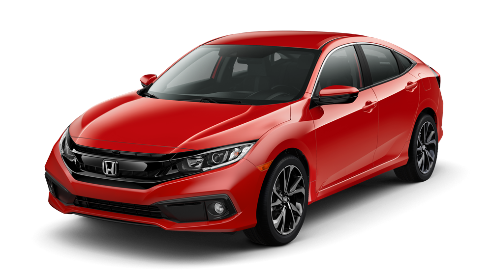 2019 Honda Civic Rallye Red