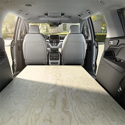 Honda Odyssey Cargo Space