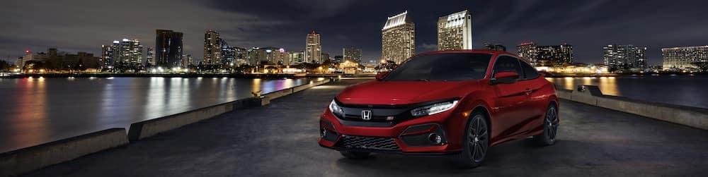 2020 Honda Civic Coupe Si Lease
