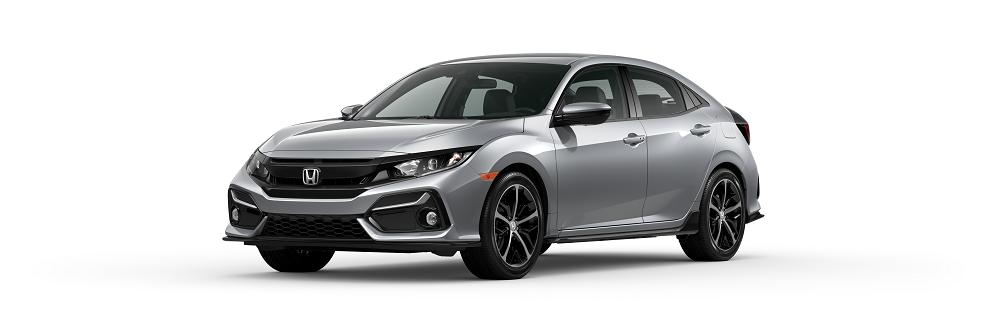 2020 Honda Civic Hatchback Lunar Silver