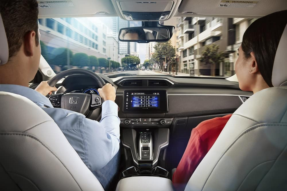 Honda Clarity Interior Technology