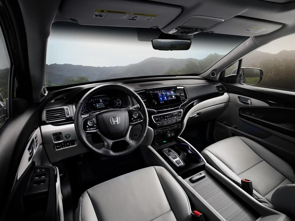 Honda Pilot Interior Technology
