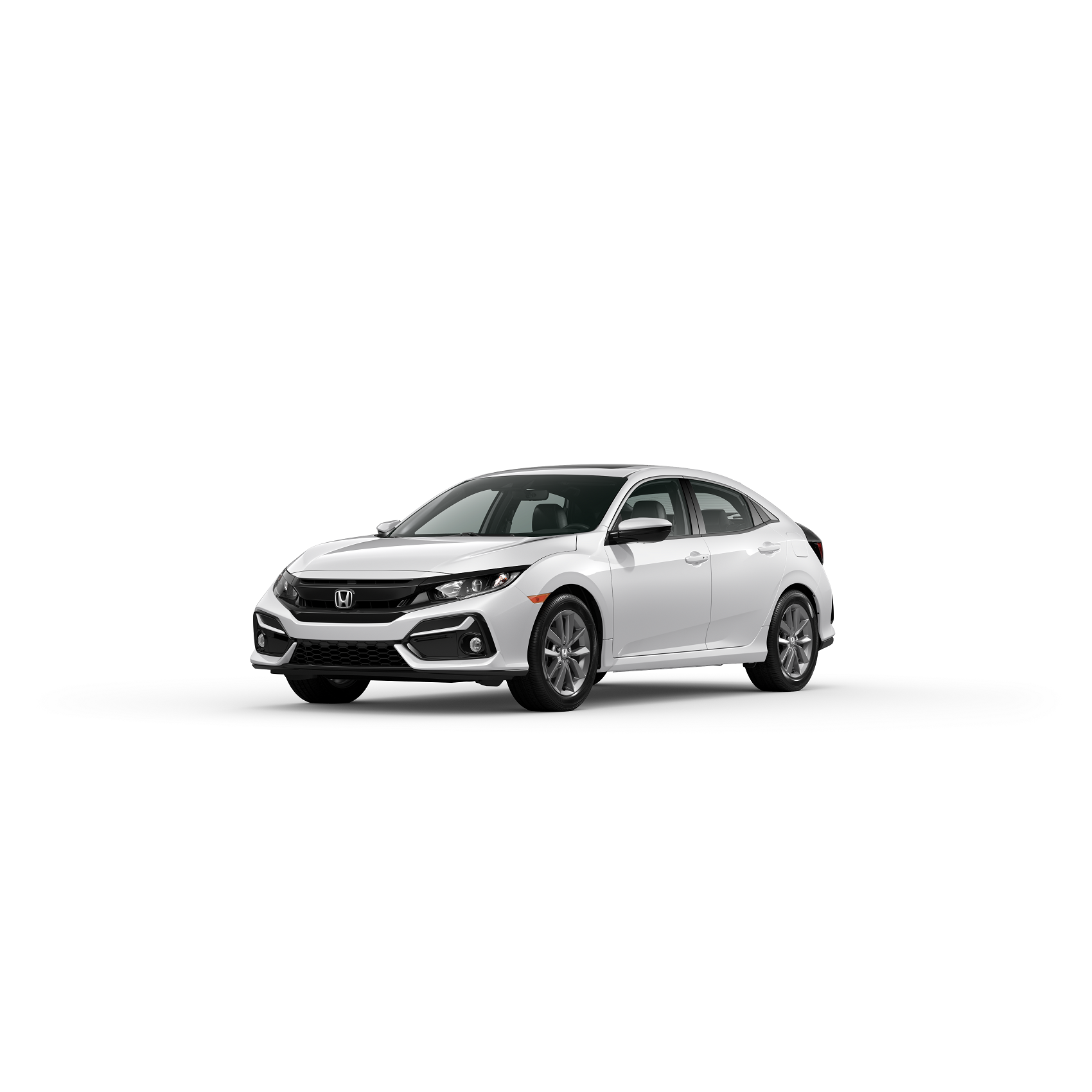2020 Honda Civic  EX-L Platinum White Pearl