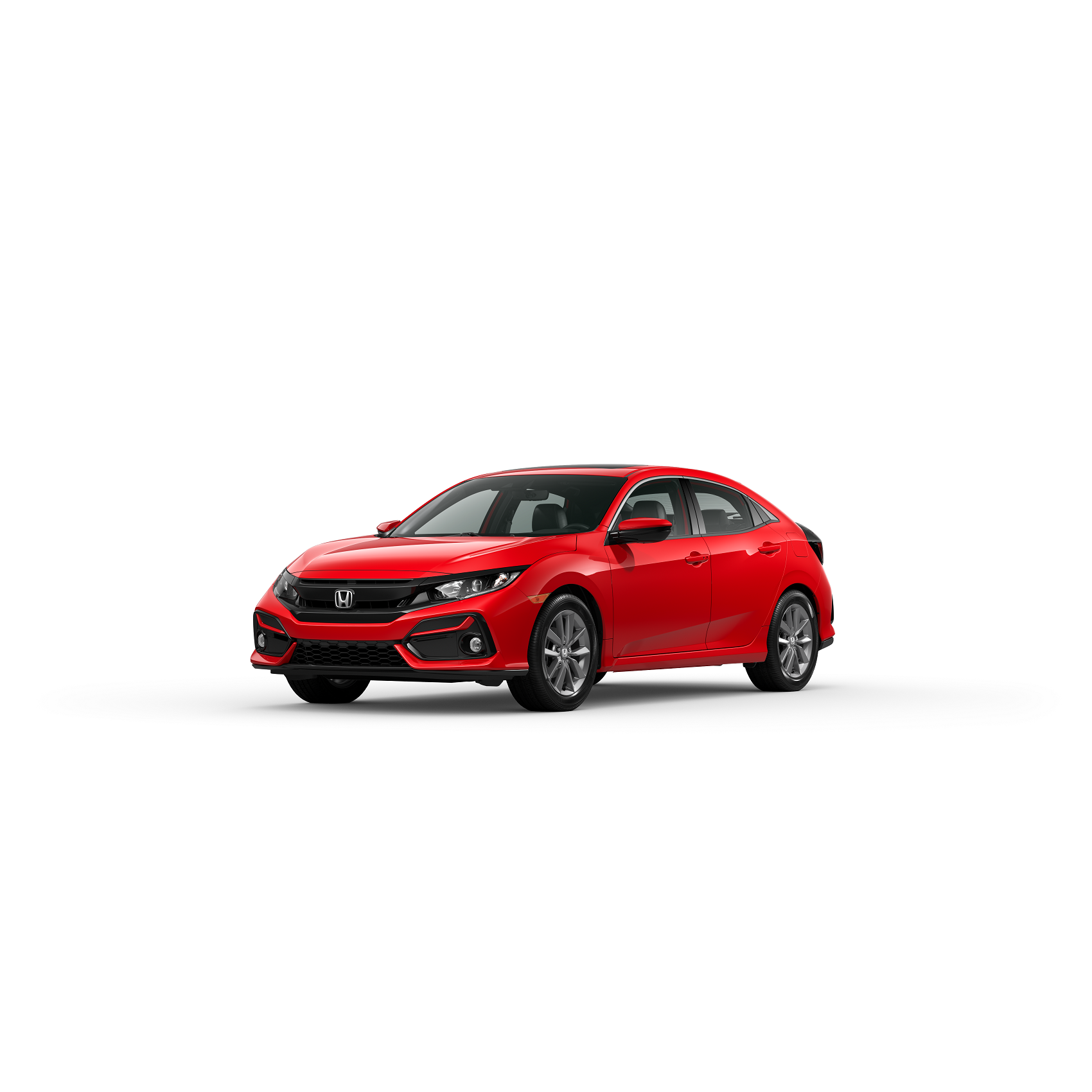 2020 Honda Civic  EX-L-Rallye Red