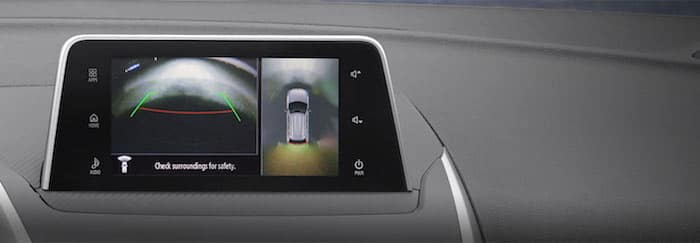 2019 Mitsubishi Eclipse Cross Multi-View Camera System